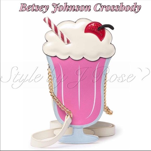 Betsey Johnson Handbags - NWT's Betsey Johnson 'Ice Cream' Crossbody